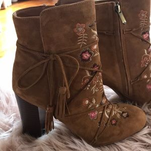 Sam Edelman Embroidered Boots